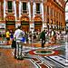 Walking in the Galleria Vittorio Emanuele II