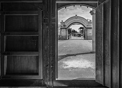 The portal and the archway (FotoGrazio) Tags: door blackandwhite art church architecture composition contrast photography design catholic pattern photoshoot cathedral geometry framed philippines religion streetphotography highcontrast streetscene structure christian portal archway moment photographicart capture bicol digitalphotography travelphotography documentaryphotography legaspicity sandiegophotographer artofphotography flickrelite californiaphotographer internationalphotographers worldphotographer photographersinsandiego fotograzio photographersincalifornia waynegrazio saintgregorythegreatcathedral waynesgrazio
