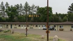 Just another motel in Sidney, Nebraska (jimsawthat) Tags: nebraska sidney smalltown us30 motels metalsigns lincolnhighway highplains vintagemotels