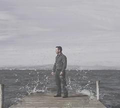 MAREA ALTA (oroyplata.) Tags: lake water valencia lago pier agua fine calm explore embarcadero lonely concept conceptual mojado albufera tipico oroyplata