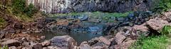 Minyon Falls panorama (ArcticZeppelin) Tags: park new panorama pool wales trekking waterfall nationalpark rainforest south australia hike falls national nsw newsouthwales byron nightcap nightcapnationalpark minyonfalls minyon gondwanarainforest