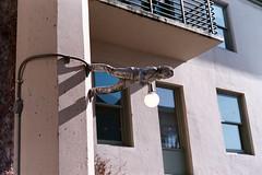Pike Place Street Lamp - Leica M6, Summarit 50 f2.5, Fuji Natura 1600 (ryanjgabbard) Tags: seattle leica film pikeplace m6 1604 summarit50