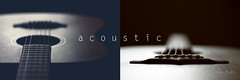 acoustic (ggcphoto) Tags: music diptych guitar sound acoustic musicalinstrument ibanez epiphone