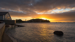 Anzac Morning (duncan_mclean) Tags: morning seascape beautiful sunrise landscape dawn early auckland devonport anzacday