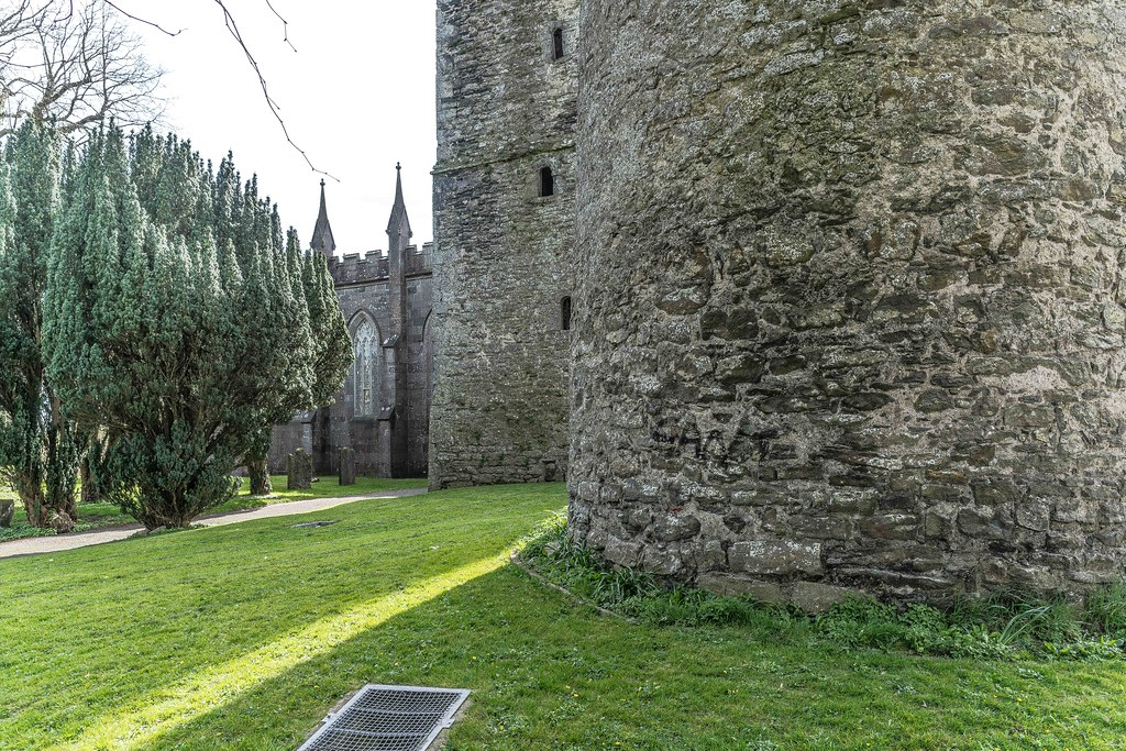 St. Columba's Church And Grounds In Swords County Dublin [Church Road]-115244