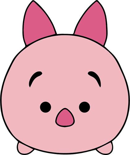 disney piglet outline
