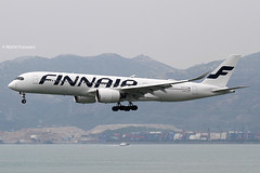Finnair (AY/FIN) / A350-941 / OH-LWA / 04-09-2016 / HKG (Mohit Purswani) Tags: travel finland photography hongkong helsinki aircraft aviation transport landing 7d airbus arrival hkg spotting skydeck canon100400 observationdeck clk widebody planespotting cheklapkok hkia a359 commercialaviation 100400 civilaviation hongkonginternationalairport airbusindustrie a350 cheklapkokairport aviationphotography jetphotosnet jetphotos vhhh 25r airbusa350900 canon7d a350900 widebodyaircraft ahkgap airbuscorporation airbusa359 airliunes