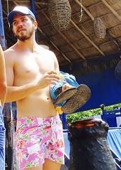IMG_0858 (danimaniacs) Tags: shirtless man sexy guy hat beard mexico muscle muscular hunk cap puertovallarta stud scruff