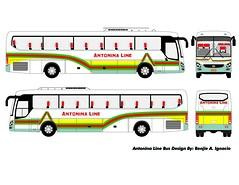 Antonina Line (Benjie Ignacio) Tags: bus art buses space line universe hyundai bicol luxury pasay premium cubao antonina pbf benjie pbpa