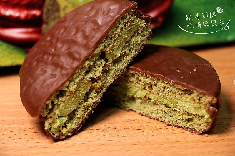 LOTTE日本樂天- CHOCO PIE奢華抹茶巧克力派08