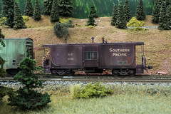 SP 4730 (steamfan1211) Tags: railroad railway trains caboose modelrailroad southernpacific hoscale