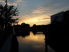 Darsena, Milan. (liz.bet) Tags: sunset italy milan silhouette ships darsena