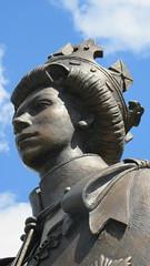 Queen Elizabeth The Second (ROBTHEGOB) Tags: england statue queen royalty runnymede queenelizabeth royalfamily