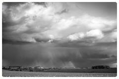 Cotswold Storm B/W (eddiestannes1) Tags: blackandwhite bw storm clouds cotswold