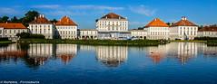 Castle Nymphenburg, Munich (raperol) Tags: canon munich 300d paisaje castillo reflejos airelibre