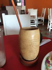 """Grenada: une """"tiste"""" (boisson à base de maïs rôti et cacao) <a style=""""margin-left:10px; font-size:0.8em;"""" href=""""http://www.flickr.com/photos/127723101@N04/26659045266/"""" target=""""_blank"""">@flickr</a>"""