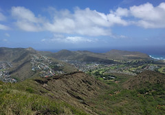 Koko Head Crater Summit View (JonathanWolfson) Tags: hiking trail koko kokohead