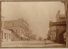 Wisconsin Street Scene, Armory, Leader, Devlin Millinery