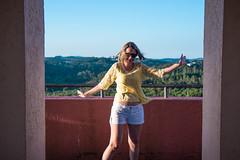 (wolfartf) Tags: park parque brazil sky woman sol paran happy day mulher saturday sunny cu curitiba feliz sbado tangu