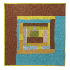 """Windy Mansion Road"" Quilt (1) (BooDilly's) Tags: modern quilt quilting quilted quilts improvised artquilt victoriagertenbach improvisedquilt"