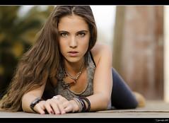 Bárbara Rey - 8/10 (Pogdorica) Tags: parque chica retrato modelo barbara ojos otoño sesion posado