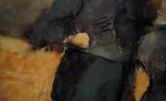 Degas, Visit to a Museum (detail), c. 1879-90