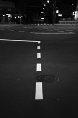 Abstract lines (No Donuts For You) Tags: street japan night tokyo sony 55mm jpg fe f18 jpeg kachidoki a7ii