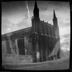 TTV Chantry Bridge Chapel (P'sych) Tags: england unitedkingdom chapel gb wakefield westyorkshire ttv throughtheviewfinder kodakbrowniereflex chantrybridge