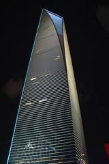 SWFC (jernejb) Tags: china city night skyscraper shanghai pudong lujiazui swfc shanghaiworldfinancialcenter d5200