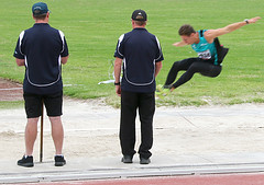 Athletics Victoria Country Championships (Boobook48) Tags: sport athletics australia competition victoria championships volunteer geelong trackandfield longjump officials ruleofthirds