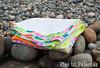Neon quilt folded (pigsinpajamas) Tags: neon quilt fabric batting layercake basting backing jellyroll rileyblake