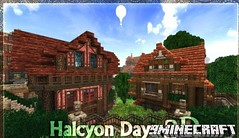 Halcyon Days 3D Resource Pack 1.8.8/1.8 (MinhStyle) Tags: game video games gaming online minecraft