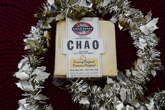 Chao Cheese Slices (Vegan) (Vegan Butterfly) Tags: christmas food field cheese vegan yummy tasty garland roast delicious vegetarian packaging dairy chao product package slices alternative nondairy