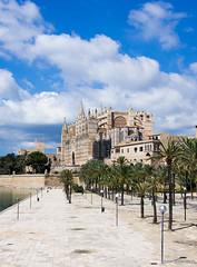 Catedral de Mallorca, Palma de Mallorca, Majorca (Wojciech Andruszkiewicz) Tags: de mallorca palma majorca majorka