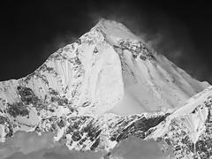 P4208949 (bl!kopener) Tags: nepal blackandwhite bw mountain monochrome landscape conservation olympus area zuiko annapurna himalayas 43 evolt e510 2011 mtw fourthirds 4x3 mountainpeak f4056 80300mm 40150mmf4056