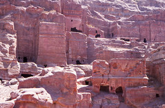 Petra tombs (Niall Corbet) Tags: archaeology ancient tomb petra ruin middleeast jordan nabatean