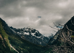 Storm in the valley (Sean Lowcay (sealow08)) Tags: newzealand sky cloud mountain lake storm nature weather clouds forest landscape nikon scenery rocks natural outdoor rocky nz southisland d90 nikond90