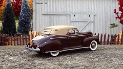 1941 Chevrolet Special De Luxe Convertible Coupe (JCarnutz) Tags: chevrolet 1941 diecast 124scale danburymint specialdeluxe