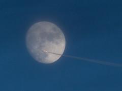 Hazy Moon fly-by 21 Jan 2016 (Sculptor Lil) Tags: moon london astrophotography handheld waxinggibbous flyby daylightmoon canon700d dslrsingleexposure
