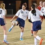 LEHS Womens JV Soccer vs Nations Ford 2-17-16