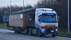 YX14 BNN (panmanstan) Tags: truck wagon transport renault lorry commercial vehicle caravan hull range freight haulage humberside hgv