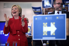 Hillary Clinton (Gage Skidmore) Tags: school get west lady out high state senator clinton rally first hrc iowa des human rights valley hillary secretary campaign moines caucus 2016 southwoods