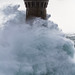 Le phare du Four - Tempête Ruzika 08 février 2016