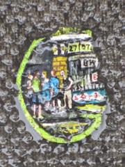 "Ben Wilson ""The Chewing gum guy"" (anthsnap!) Tags: streetart london shoreditch chewinggum benwilson"