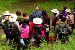Christian Schwarz leading a CCNH walk, Joaquin Miller Park, Oakland, California (Damon Tighe) Tags: california park ca people mushroom oakland walk hike christian miller joaquin lead schwarz ccnh expert