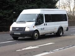 SC62 KJU (Cammies Transport Photography) Tags: road england bus ford scotland coach edinburgh fife rugby v transit council specials corstorphine kju sc62 sc62kju