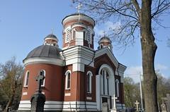 Храм вмц. Екатерины (на Лукьяновском кладбище)