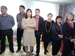 Mr. Serik Asanov, Mr. and Mrs. Talamasov and other guests (COCAFoundation) Tags: kazakhstan coca autism astana