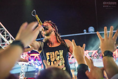 10 Year's Jesse Hasek on Shiprocked 2016