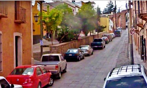 Zacatecas, Calle de los Arcos, hoy Avenida Rayón